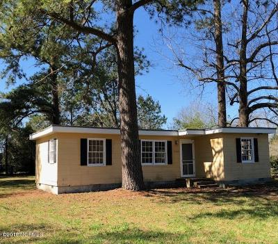 New Bern Single Family Home For Sale: 3207 Nursery Road