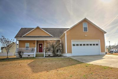 Cape Carteret Single Family Home Active Contingent: 100 Echo Ridge Road