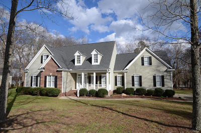 Nash County Single Family Home For Sale: 7781 Briar Creek Road