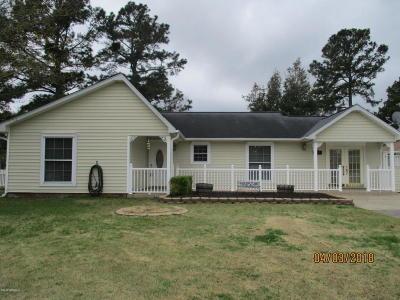 Jacksonville Single Family Home For Sale: 612 Kimberly Lane