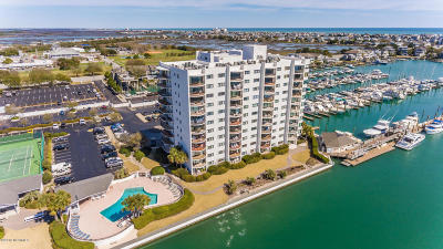 Wrightsville Beach Condo/Townhouse For Sale: 322 Causeway Drive #A 109
