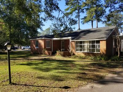 Whiteville NC Single Family Home For Sale: $129,900
