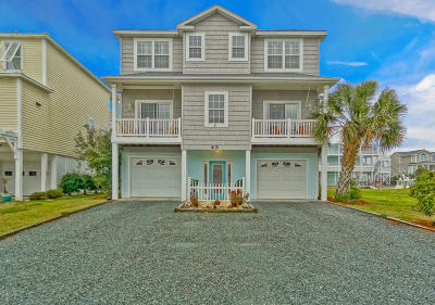 Ocean Isle Beach Single Family Home For Sale: 43 Goldsboro Street