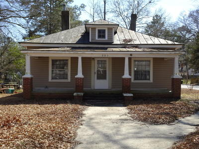 Rocky Mount Single Family Home For Sale: 901 Lancaster Street