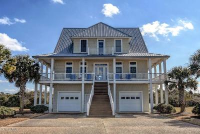 North Topsail Beach, Surf City, Topsail Beach Single Family Home For Sale: 4 Sailview Drive