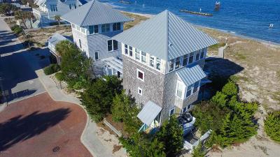 Bald Head Island Single Family Home For Sale: 1 Row Boat Row