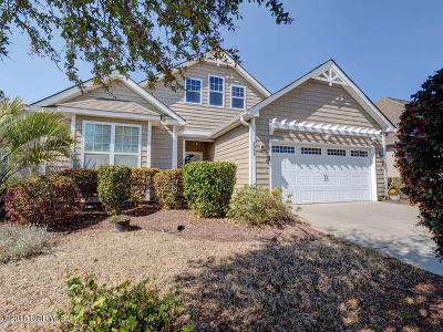 Ocean Isle Beach Single Family Home For Sale: 7099 Bonaventure Street SW