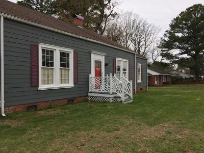 Edgecombe County Single Family Home For Sale: 401 W Green Street
