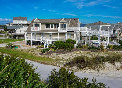 Emerald Isle Single Family Home For Sale: 100 Bogue Court