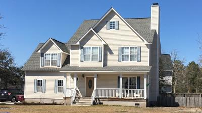 Sneads Ferry Single Family Home For Sale: 1652 Chadwick Shores Drive