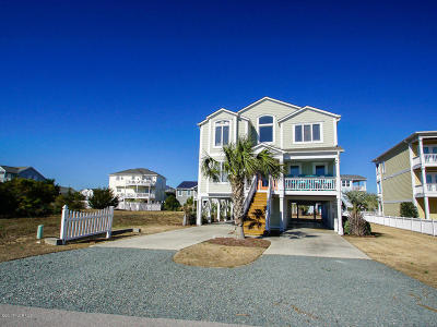 Holden Beach Single Family Home For Sale: 157 Brunswick Avenue E