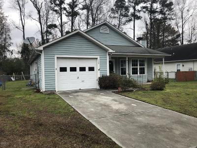 Jacksonville Single Family Home For Sale: 1208 Gerald Drive