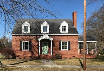 Farmville Single Family Home For Sale: 4168 E Church Street