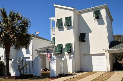 Pine Knoll Shores Condo/Townhouse For Sale: 6 Bermuda Greens