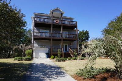 Emerald Isle Single Family Home For Sale: 5801 Landing Court