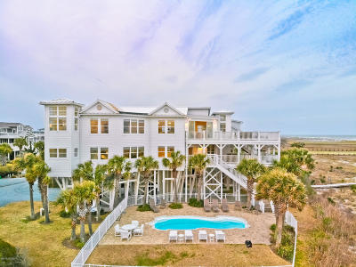 Holden Beach Single Family Home For Sale: 1365 Ocean Boulevard W