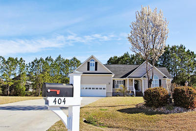 Beaufort NC Single Family Home For Sale: $214,900