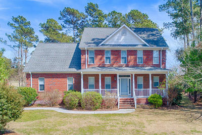 Sneads Ferry Single Family Home For Sale: 124 Captains Lane