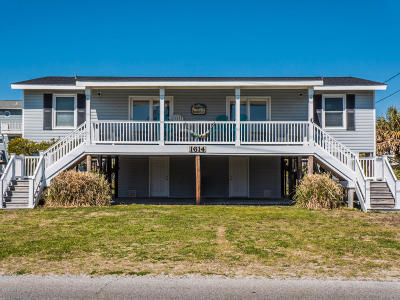 North Topsail Beach, Surf City, Topsail Beach Single Family Home For Sale: 1614 S Anderson Boulevard