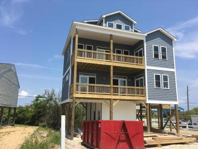 North Topsail Beach, Surf City, Topsail Beach Single Family Home For Sale: 121 Topsail Road