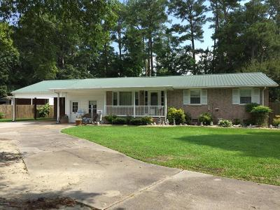 Jacksonville Single Family Home For Sale: 840 Gum Branch Road