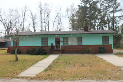 Whiteville Single Family Home For Sale: 513 W College Street