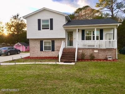 Newport NC Single Family Home For Sale: $153,500