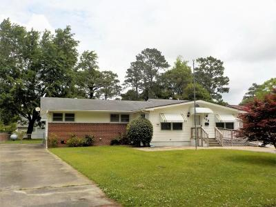 Havelock Single Family Home For Sale: 108 Bryan Boulevard
