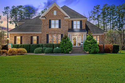 New Bern Single Family Home For Sale: 1502 Zurich Place