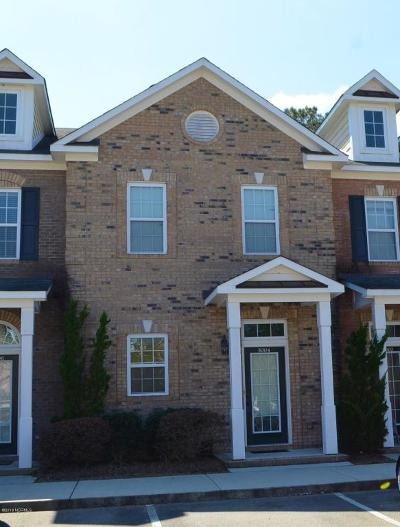 Castle Hayne Condo/Townhouse For Sale: 5004 Exton Park Loop