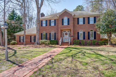 Rocky Mount Single Family Home For Sale: 804 Bell Drive