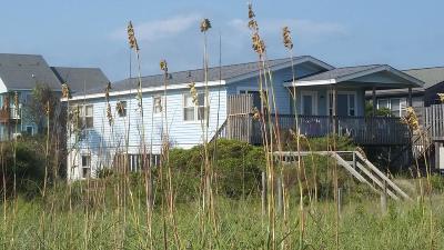 Oak Island Single Family Home For Sale: 6317 W Beach Drive