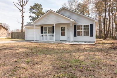 Jacksonville Single Family Home For Sale: 223 Summersill School Road