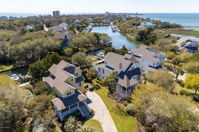 Indian Beach Single Family Home For Sale: 203 Sea Isle Point