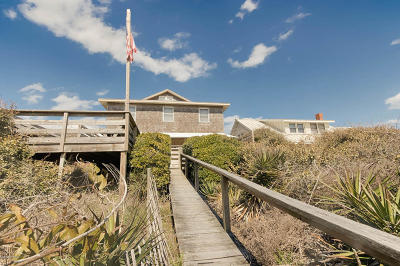 Atlantic Beach Single Family Home For Sale: 118 E Boardwalk
