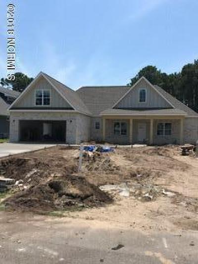 Sneads Ferry Single Family Home For Sale: 404 Sawgrass Cove
