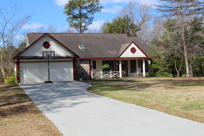 Morehead City Single Family Home For Sale: 407 Hillcrest Drive