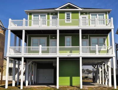 Ocean Isle Beach NC Single Family Home For Sale: $675,000
