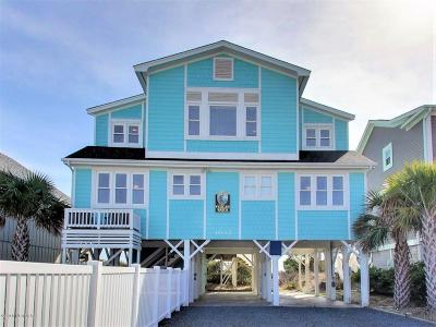 Holden Beach Single Family Home For Sale: 1033 Ocean Boulevard W