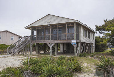Oak Island Single Family Home For Sale: 926 E Beach Drive