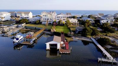 Oak Island Single Family Home For Sale: 5108 W Beach Drive
