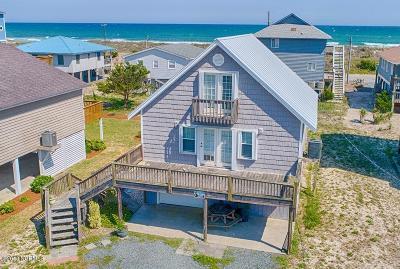 North Topsail Beach, Surf City, Topsail Beach Single Family Home For Sale: 1709 Spot Boulevard