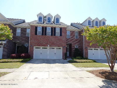 Wilmington Condo/Townhouse For Sale: 4821 Whitner Drive