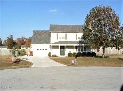 Jacksonville Single Family Home For Sale: 206 Buff Court