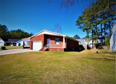Havelock Single Family Home For Sale: 305 Coachman Lane