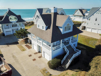 North Topsail Beach, Surf City, Topsail Beach Single Family Home For Sale: 4324 Island Drive