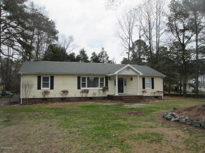 Grifton NC Single Family Home For Sale: $134,500