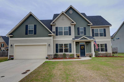Onslow County Single Family Home For Sale: 428 Cyrus Thompson Drive