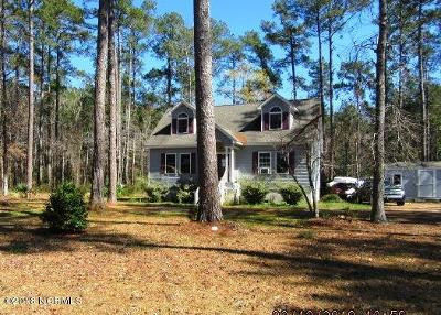 Beaufort Single Family Home For Sale: 119 Cummins Creek Road