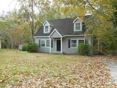 Jacksonville Single Family Home For Sale: 856 Mill River Road Road